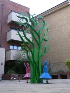Tree and Girls